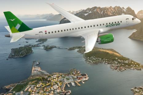 Foto: Widerøe / Embraer