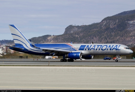 National Airlines Boeing B757-200