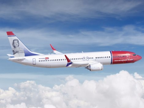 Norwegian Air Shuttle Boeing B737MAX8