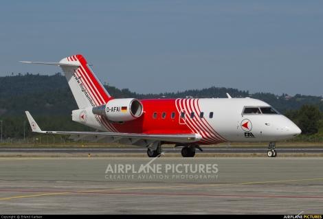FAI rent-a-jet Bombardier Challenger 604