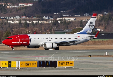 Norwegian Air International Boeing B737-800