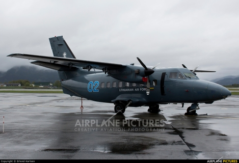 Lithuanian Air Force Let L-410UVP Turbolet