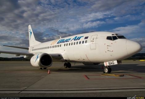 Blue Air Boeing B737-500