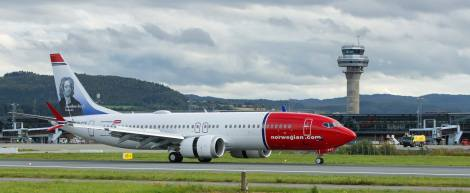 Norwegian Air Boeing B737MAX8
