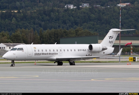 Global Reach Aviation Canadair CRJ200