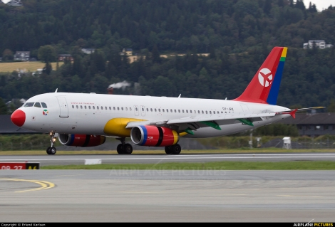 Danish Air Transport Airbus A320