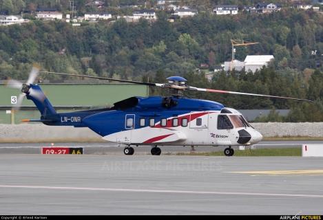 Bristow Norway Skiorsky S-92