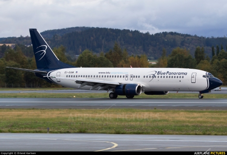Blue Panorama Airlines Boeing B737-800