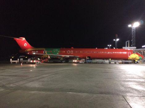 DAT Danish Air Transport MD83